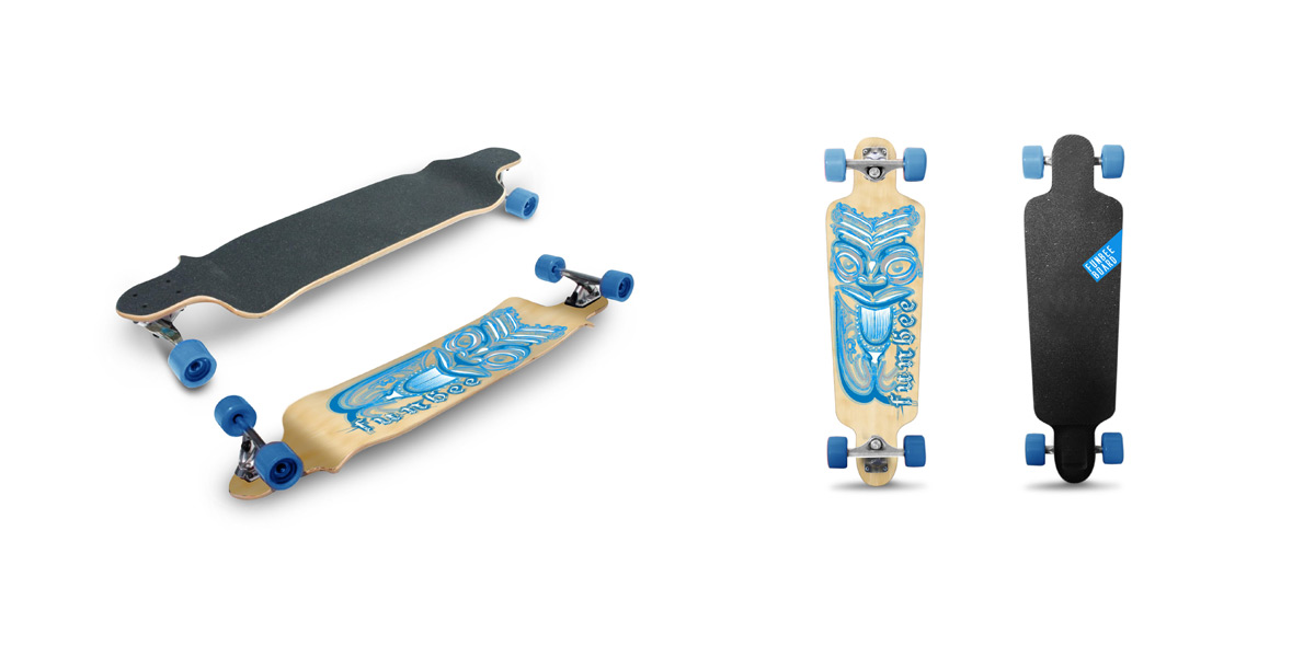 Creation-Illustration-Longboard-Lyon-Grenoble-Geneve